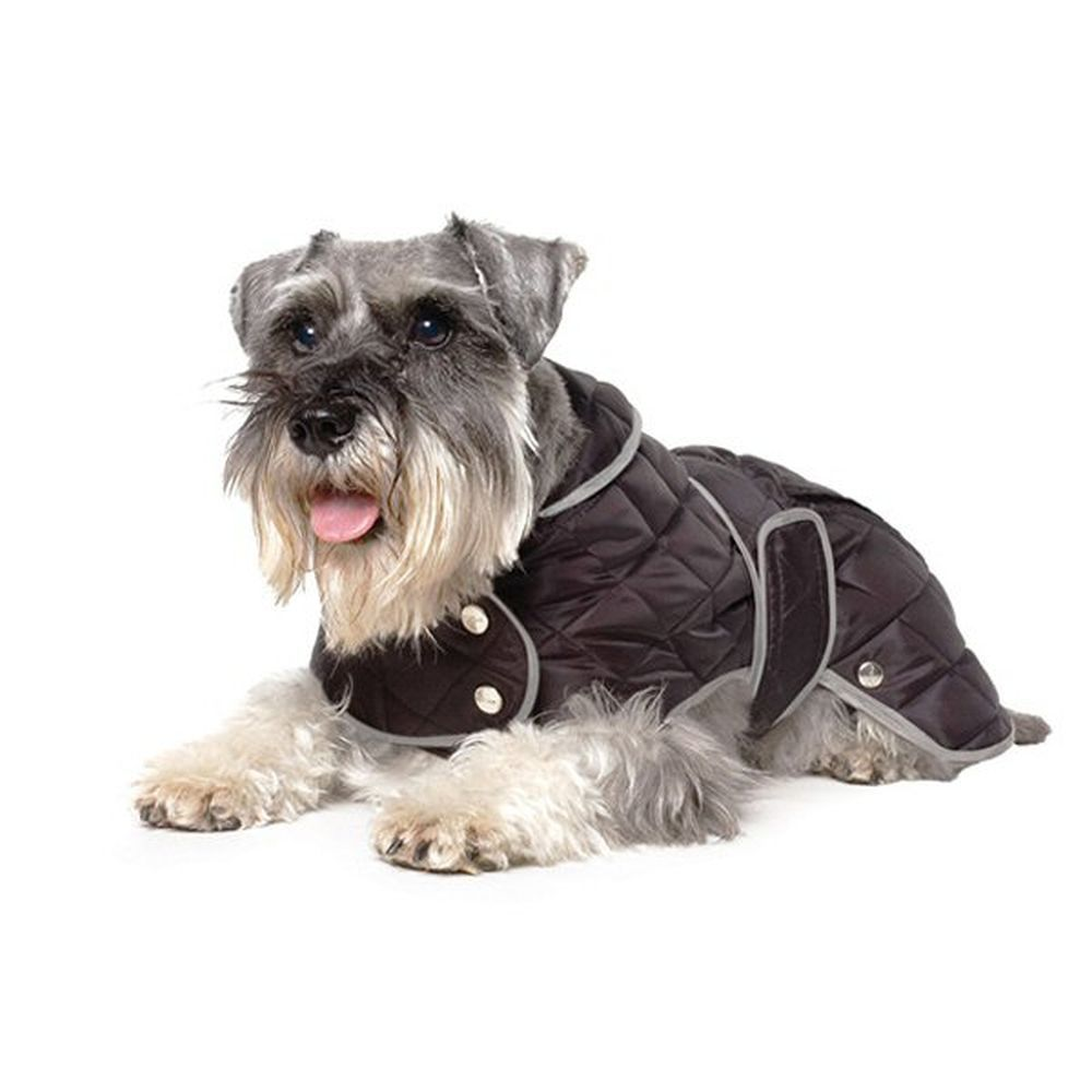 Ancol Muddy Paws Large Black Diamond Quilt Dog Coat