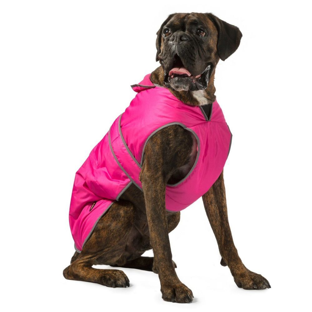 Muddy Paws Stormguard Small Pink Dog Fleece