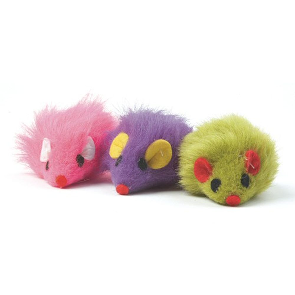 Ancol Colourful Cat Mouse Toy - 991056