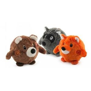 Ancol 7cm Bouncing Woodland Friends (One Supplied at Random)