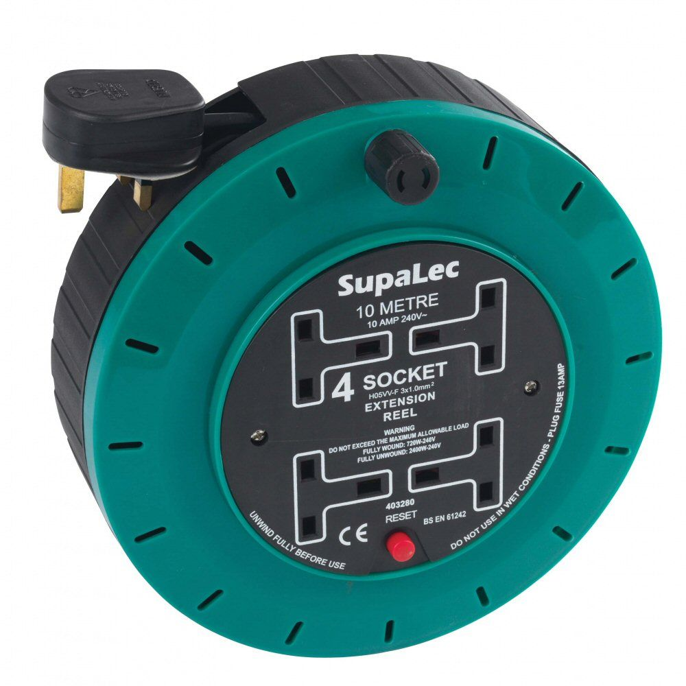 SupaLec 10 Metre Extension Reel