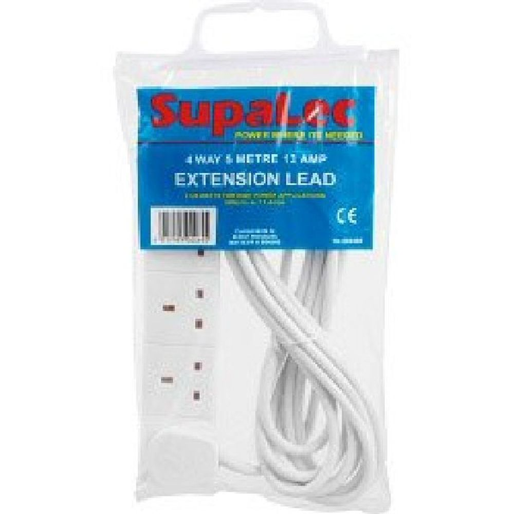 SupaLec 4 Gang Extension Lead