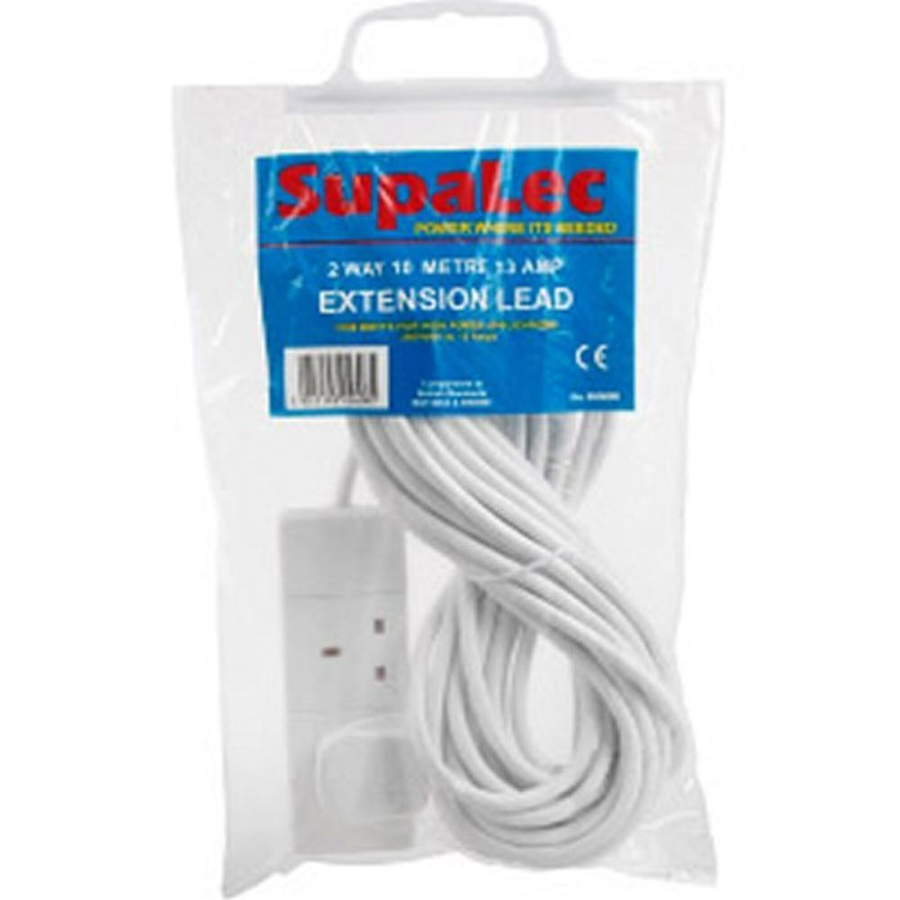 SupaLec 2 Gang Extension Lead
