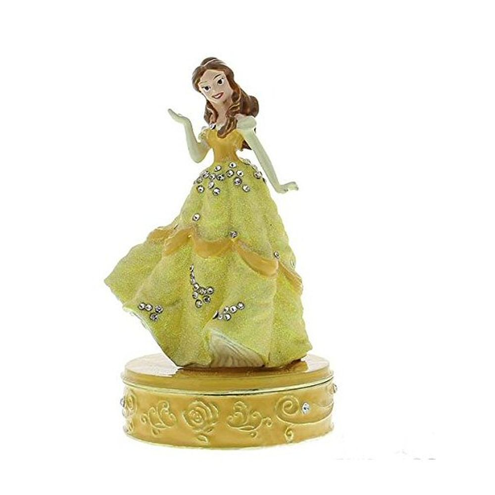 Disney Belle Beauty And The Beast Trinket Box