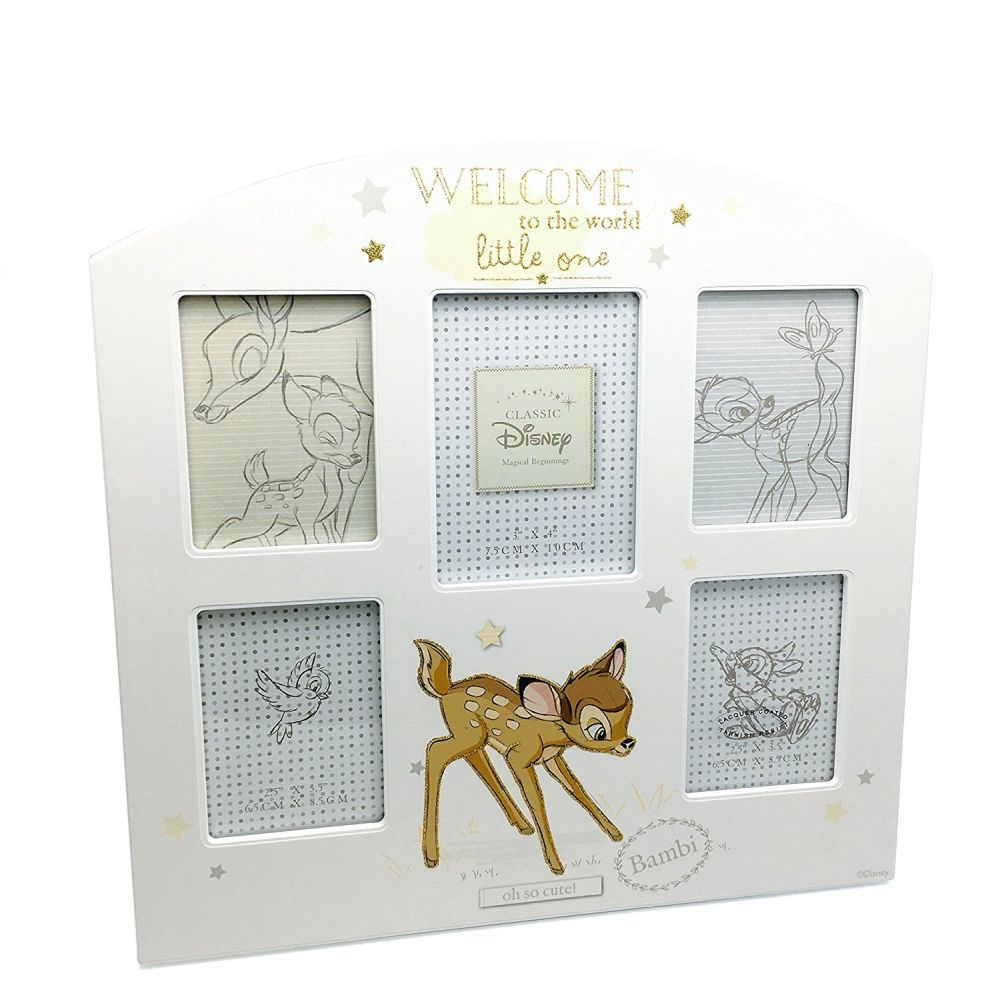 Disney Bambi Arched Collage Photo Frame