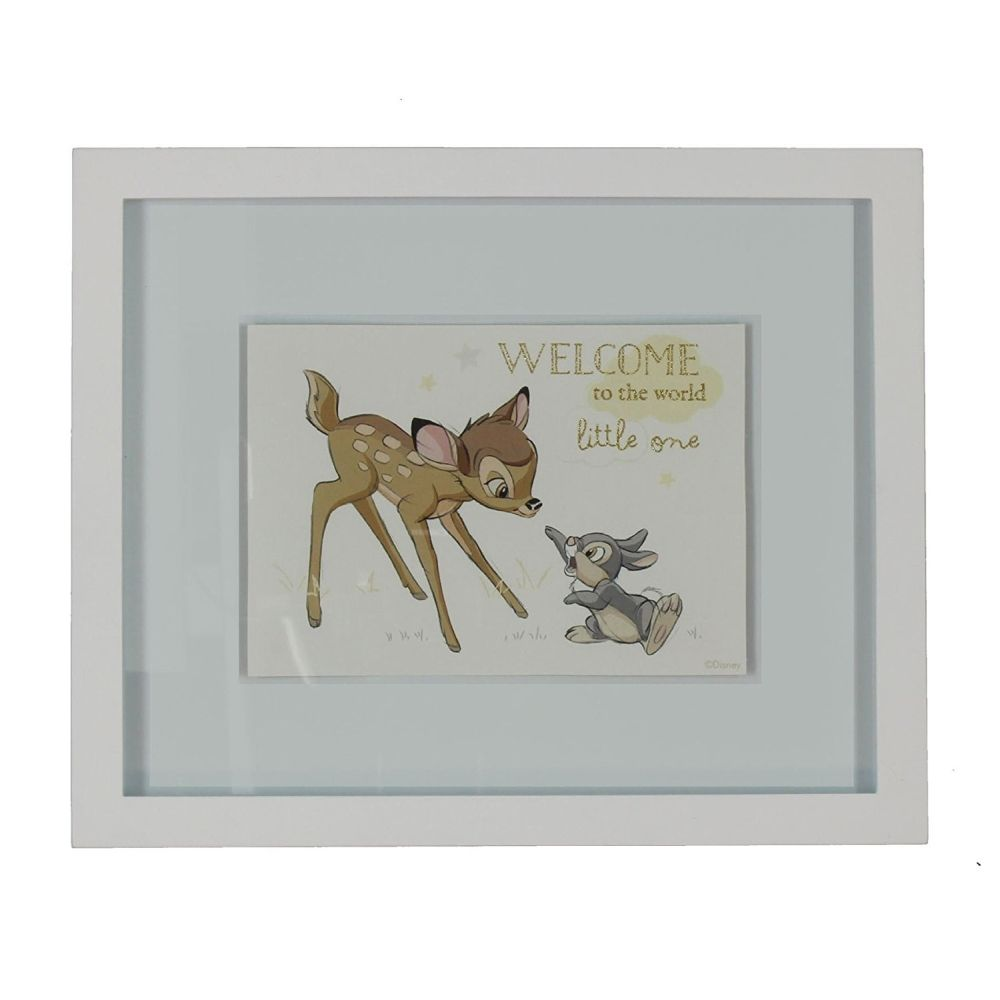 Disney Magical Beginnings Bambi And Thumper Wall Plaque
