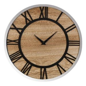 Widdop and Co 30cm Home Living Round Wall Clock