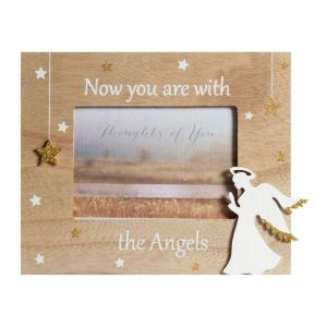 "Widdop and Co 5 x 3.5"" Now you are with the Angels Frame"
