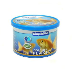 King British 55g Natural Goldish Flake Food