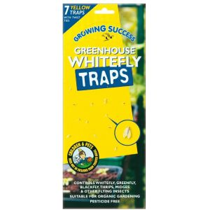 Growing Success Greenhouse Whitefly Traps (Pack of 7)