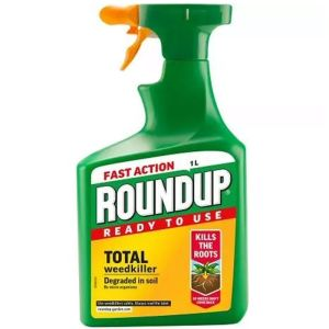Roundup 1 Litre Fast Action Ready To Use Weedkiller