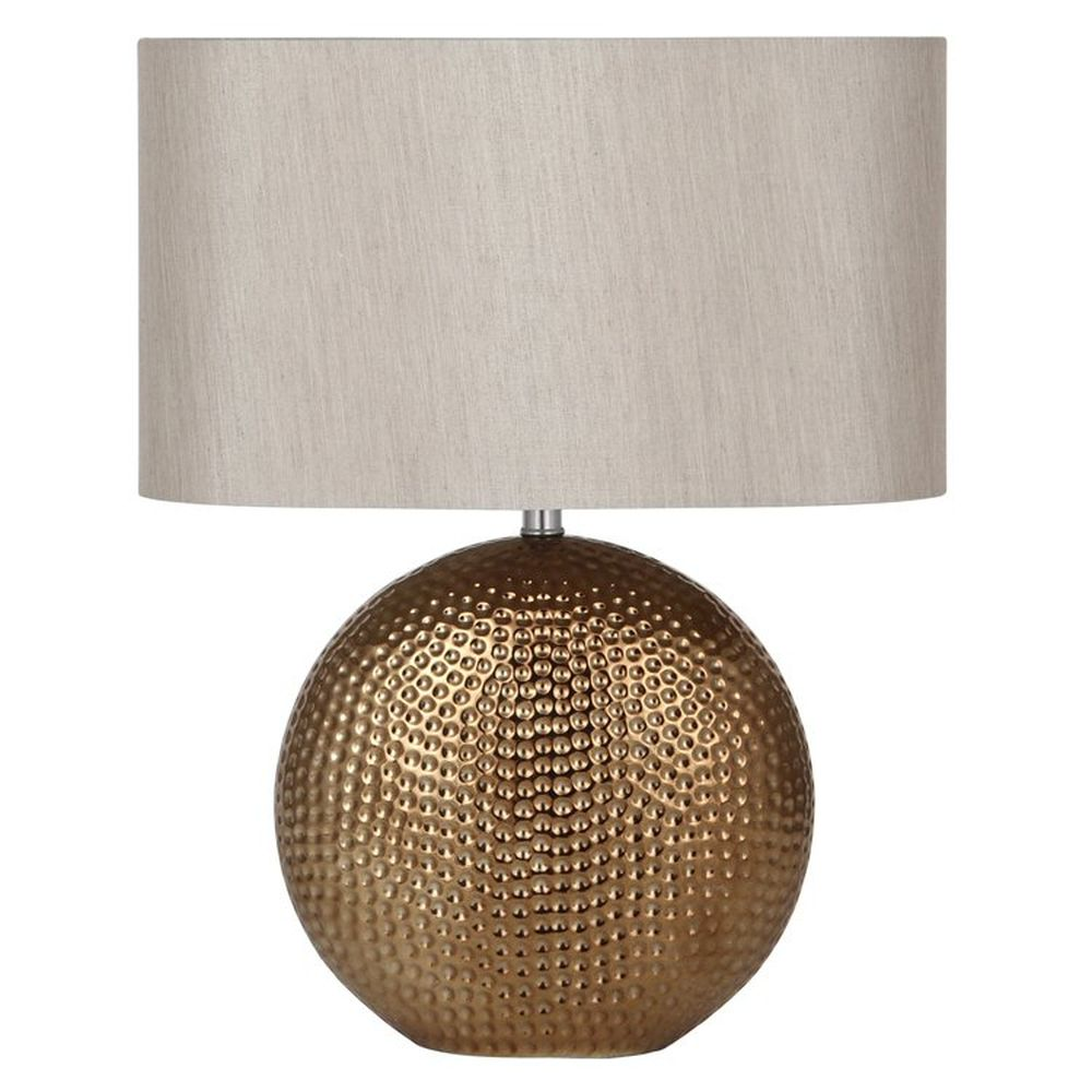 Pacific 41cm Bronze Ceramic Table Lamp