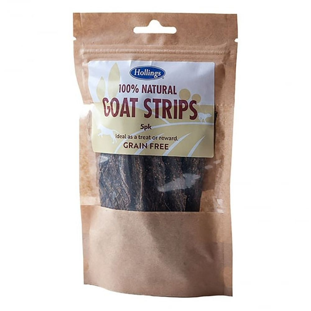 Hollings Pack of 5 100% Natural Goat Strips