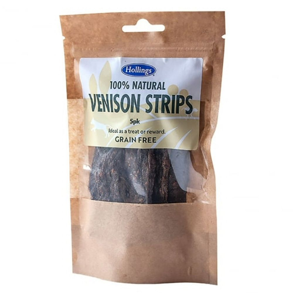 HOLLINGS NATURAL VENISON STRIPS