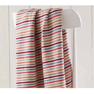 Walton & Co 80 x 100cm Stripe Baby Blanket