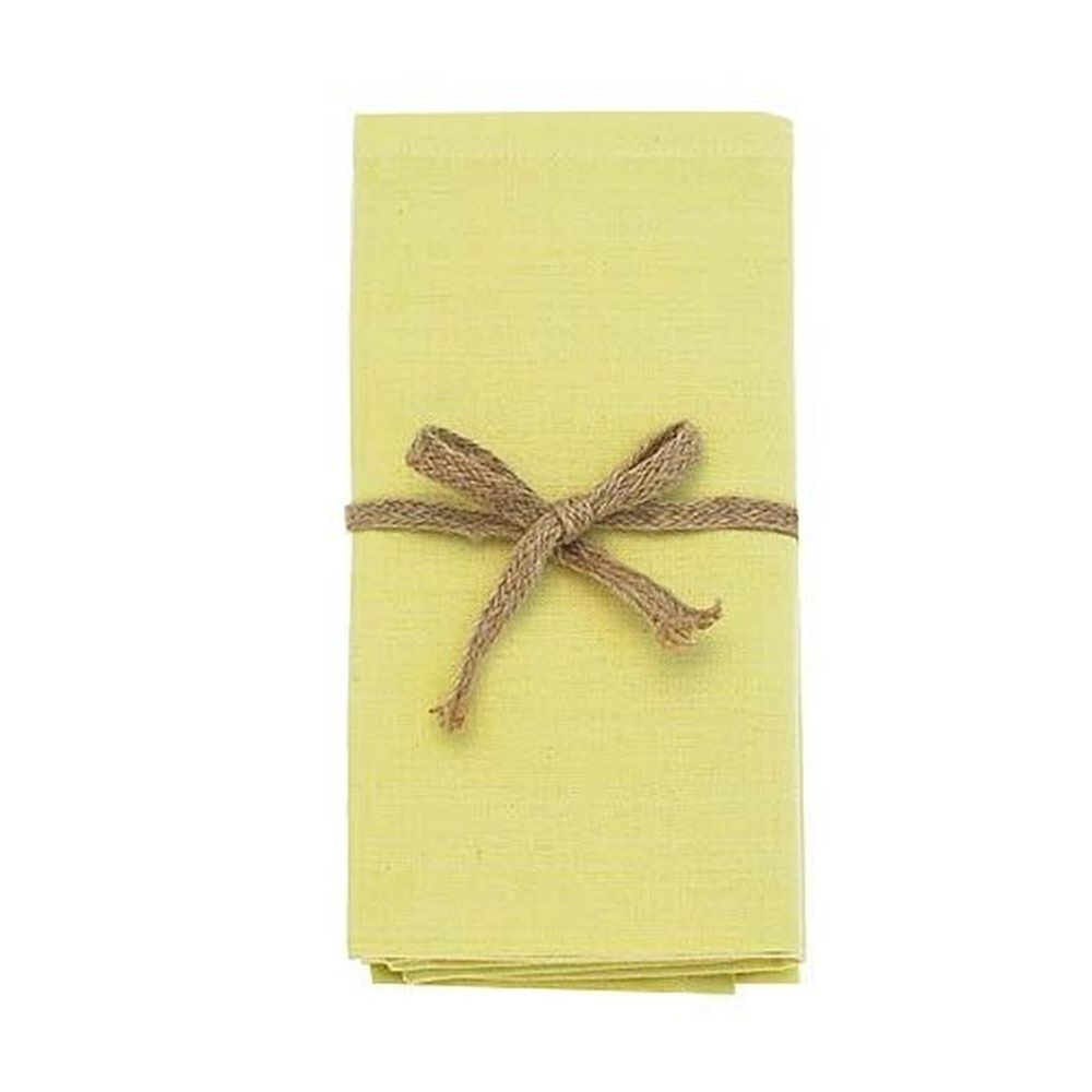 Walton & Co Napkin Lemon Grass (Set of 4)