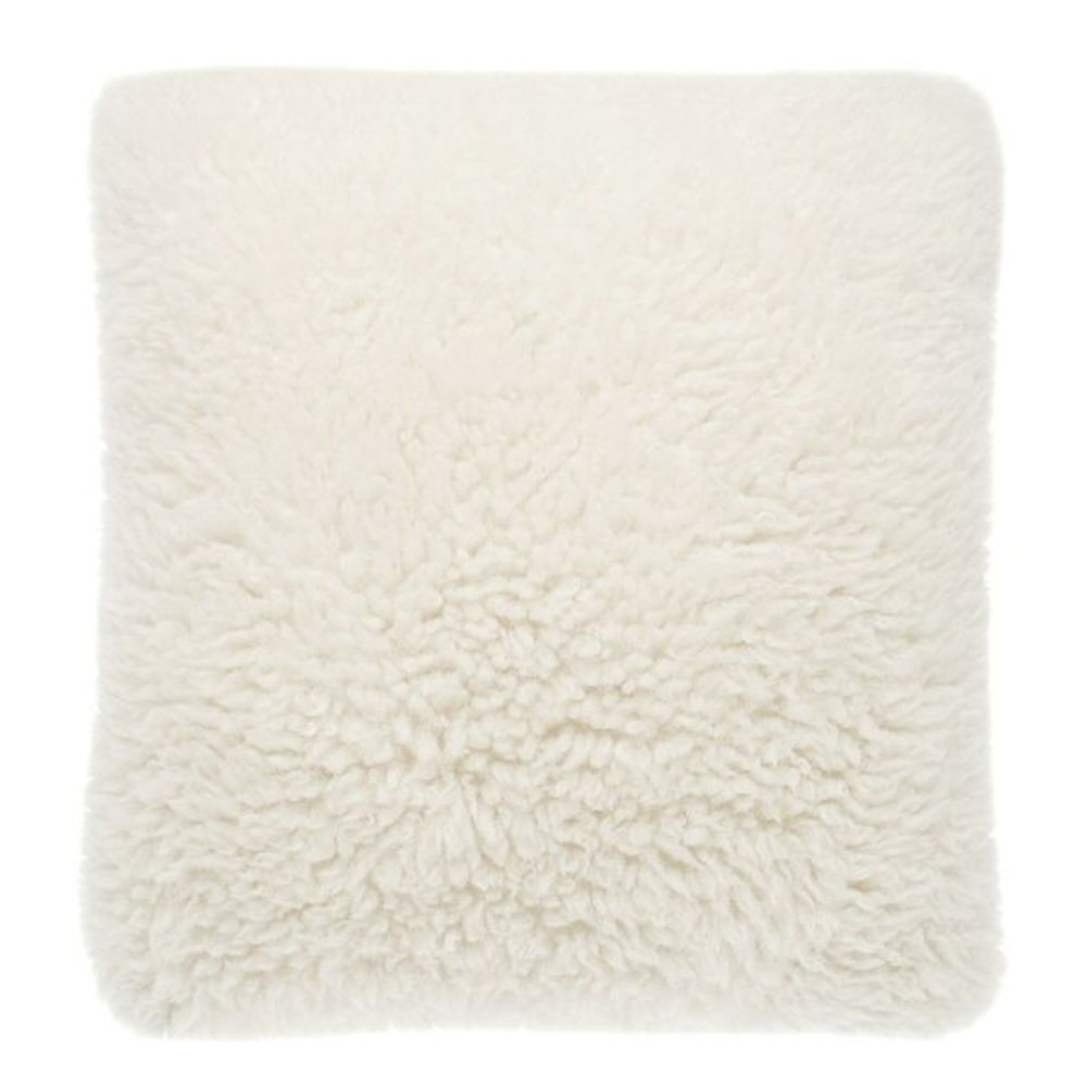 Walton & Co 48cm Faux Alpaca Cushion