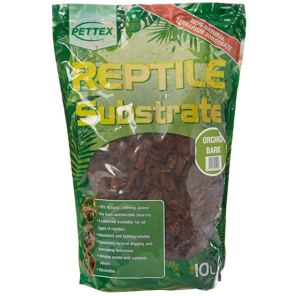 Pettex Reptile Substrate Orchid Bark 10L - RT296