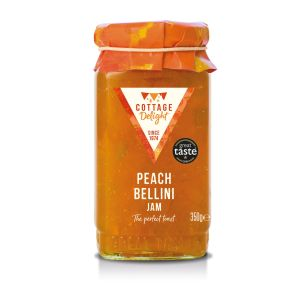 Cottage Delight 350g Peach Bellini Jam