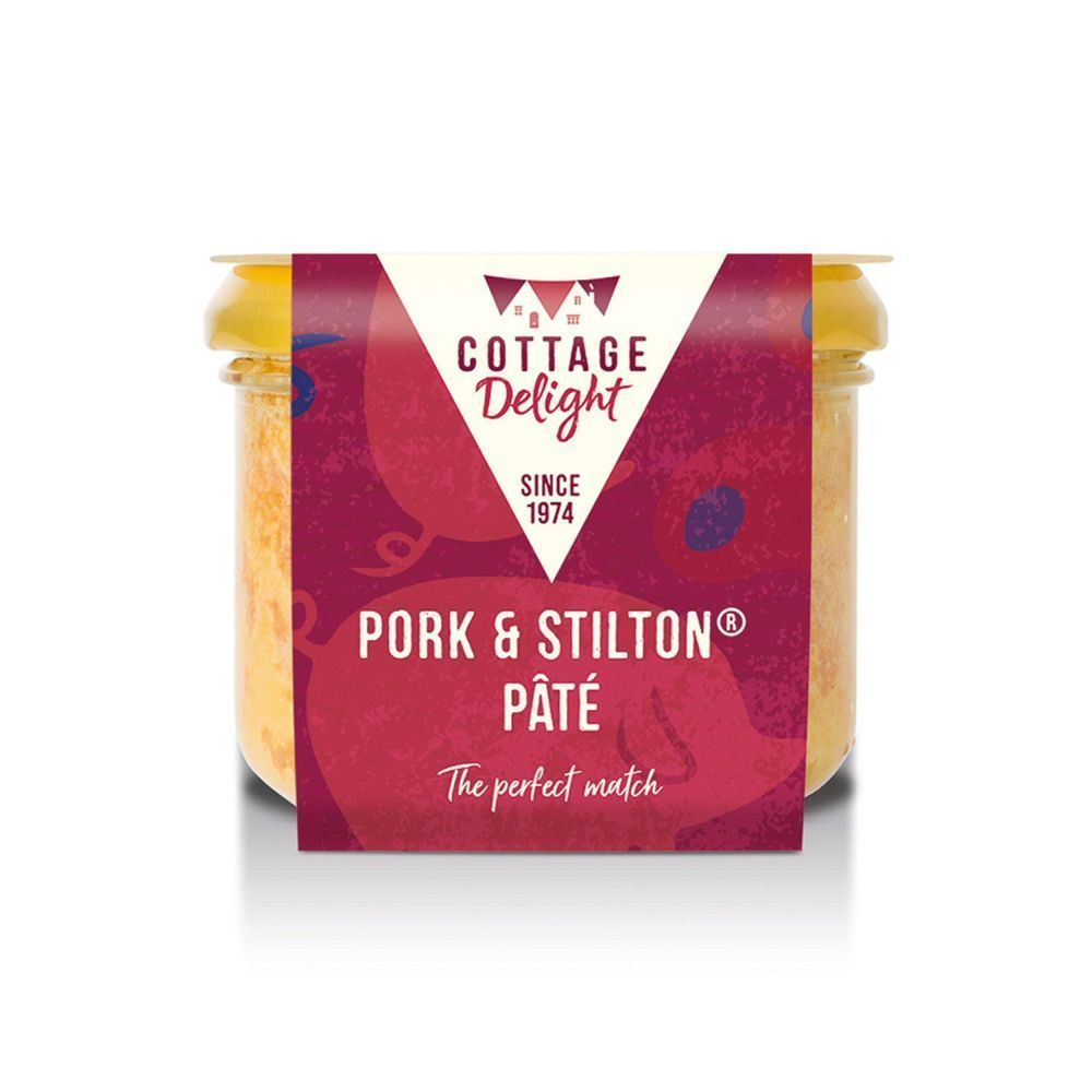 Cottage Delight 180g Pork and Stilton Pate