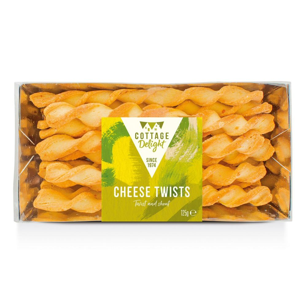 Cottage Delight 125g Cheese Twists