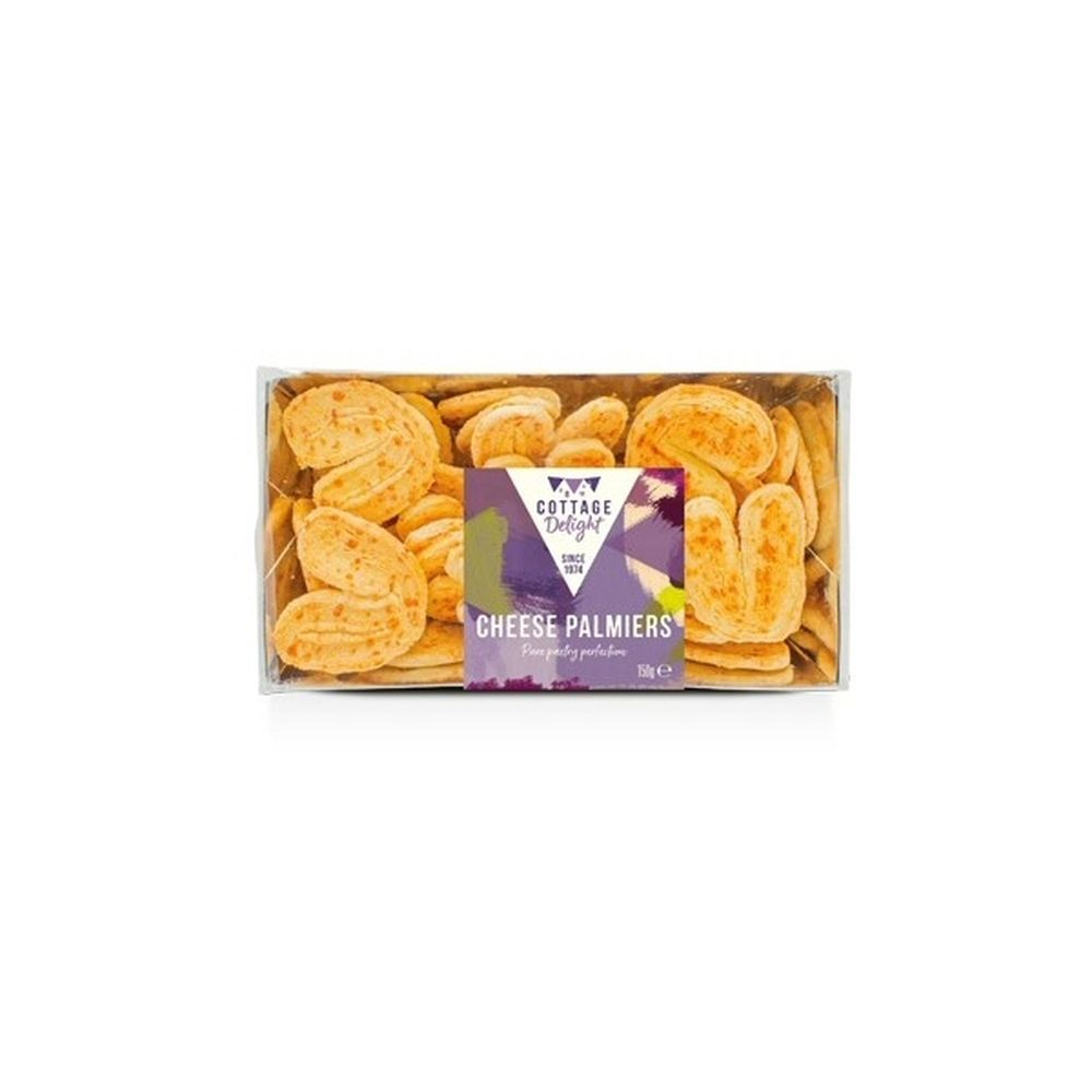 Cottage Delight 150g Pure Cheese Palmiers