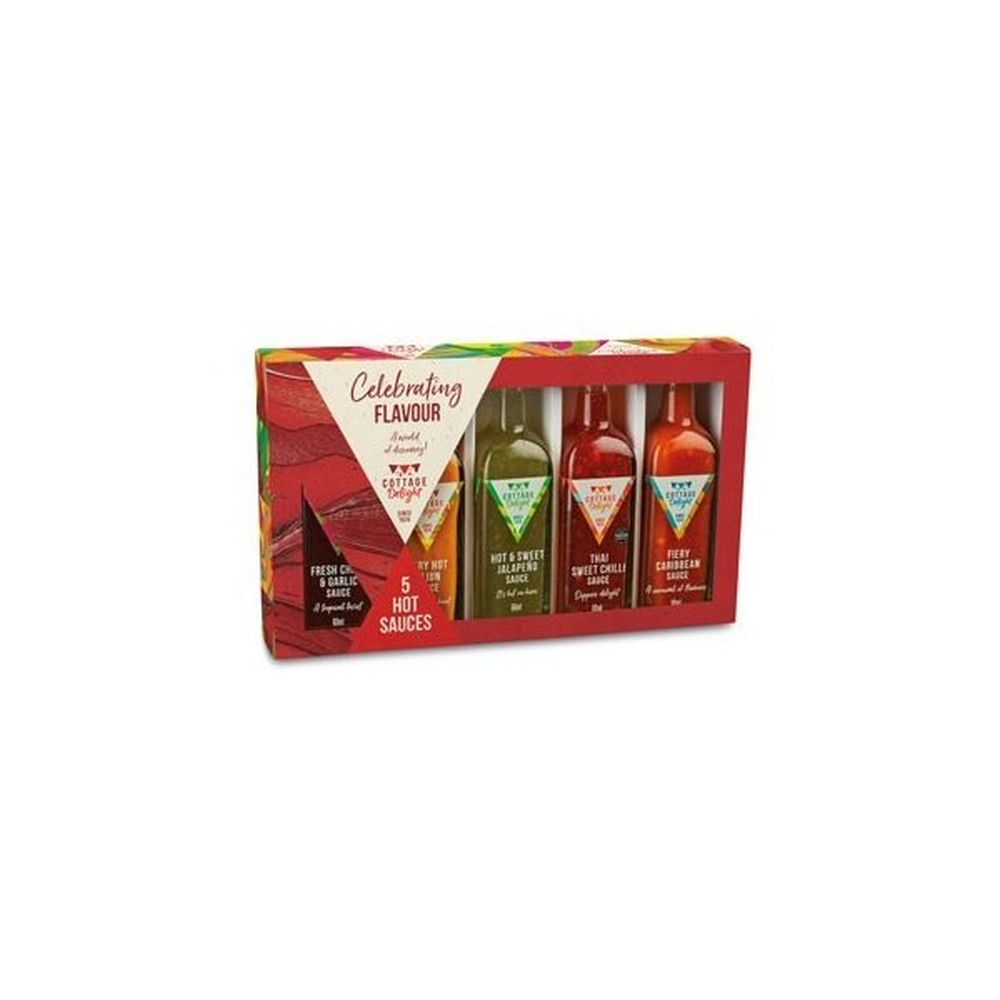 Cottage Delight Celebrating Flavour Hot Sauce Gift Pack