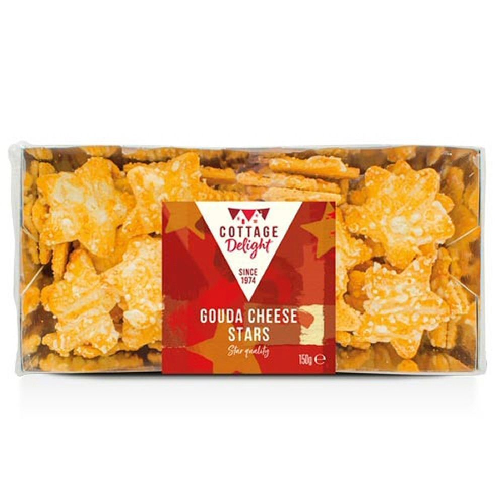 Cottage Delight 150g Gouda Cheese Stars