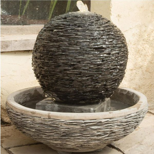 Woodlodge 40cm Sphere Lagoon Water Feature