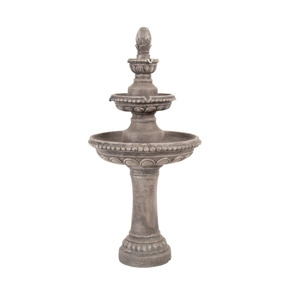 Woodlodge 90cm Classic Two-Tiered Water Feature