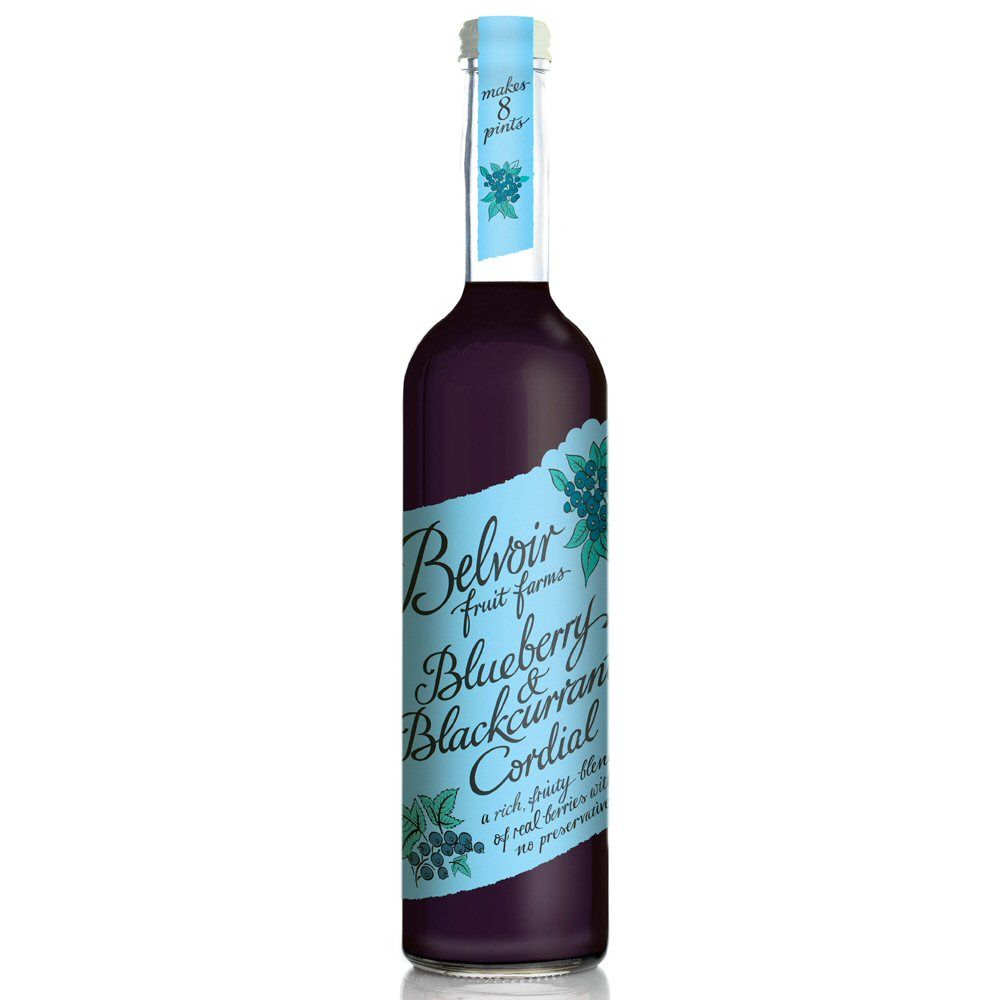 Belvoir Blueberry & Blackcurrent Cordial 50cl