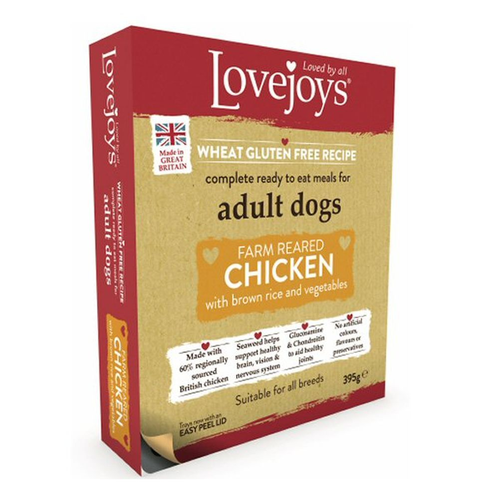 Lovejoys Hypoallergenic Chicken & Rice Wet Dog Food Pouch
