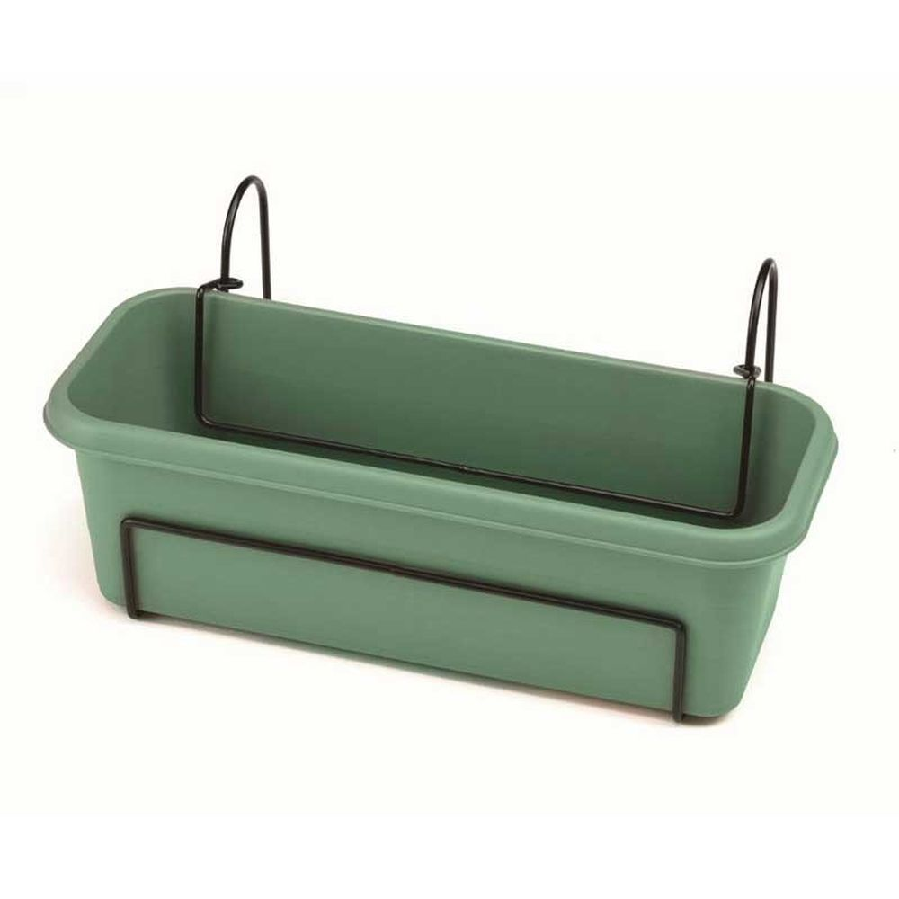 Stewarts Green Balcony Trough Planter