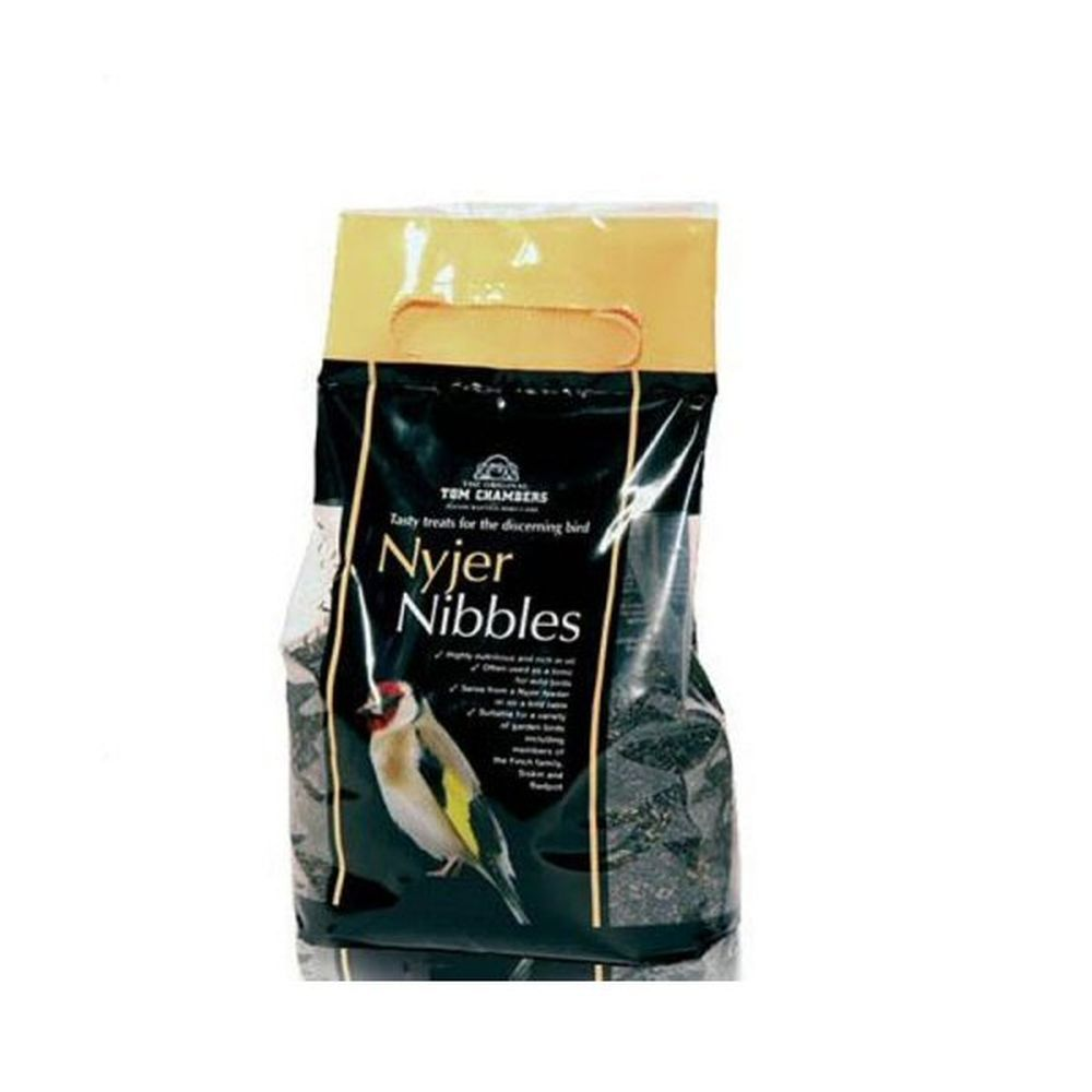 Tom Chambers 1.5kg Nyjer Nibbles Wild Bird Seed + 33% FREE - BFC028