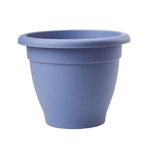 Stewarts 27cm Cornflower Blue Essentials Plastic Planter