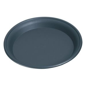 Stewarts 25cm Black Multi Purpose Plastic Saucer