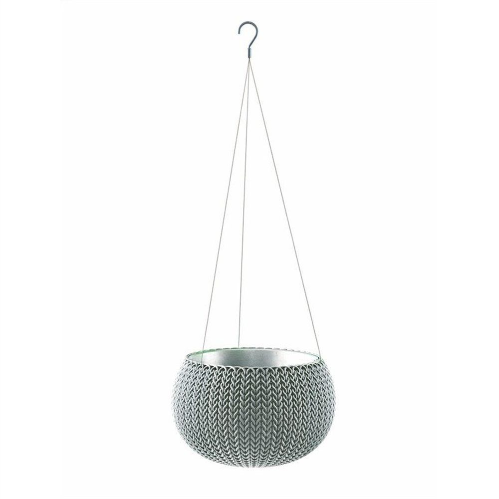 Stewarts 28cm Blue Cozies Planter with Chain
