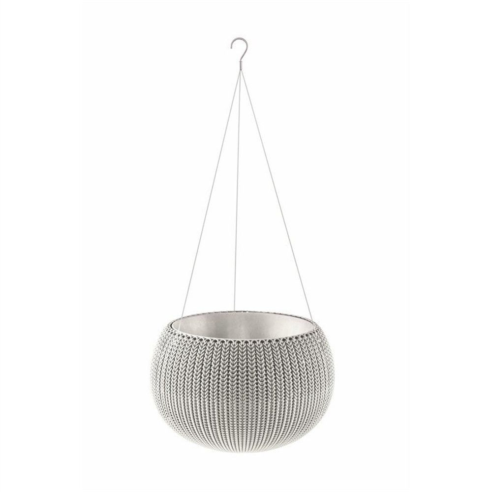 Stewarts 36cm Grey Cozies Planter with Chain