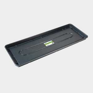 Stewarts 100cm Black Plastic Essentials Growbag Tray
