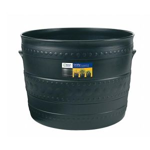 Stewarts 35cm Black Small Smithy Plastic Patio Tub