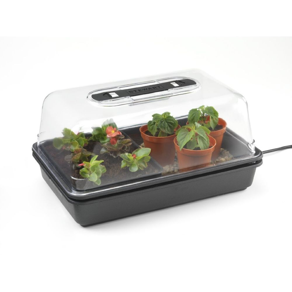 Stewarts 38cm Plastic Essentials 8 Watt Electric Propagator