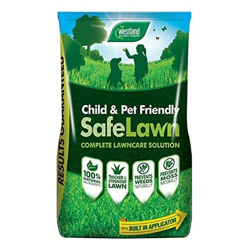Westlands 14kg Safelawn Natural Lawn Feed  Child and Pet Friendly
