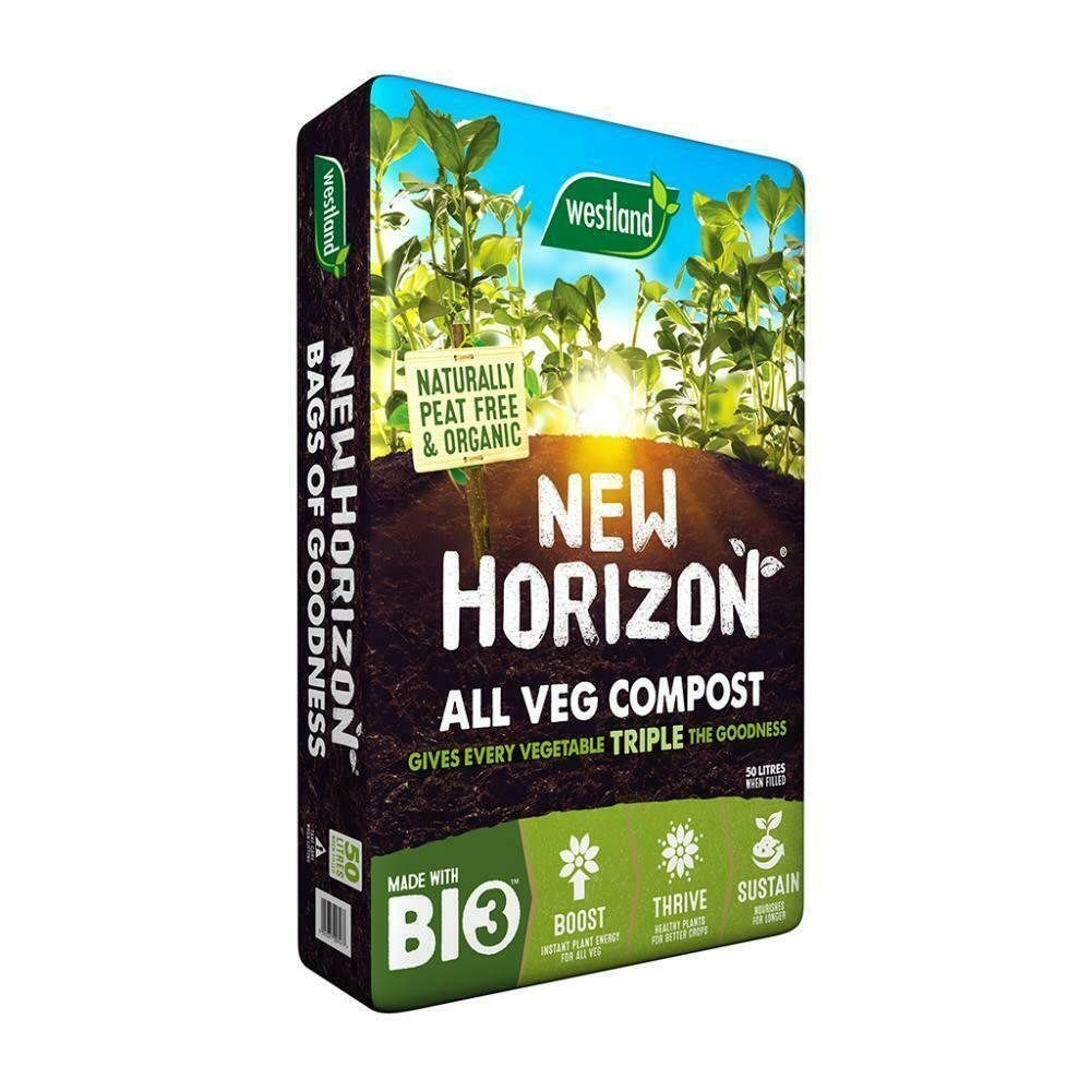 New Horizon 50L Peat Free All Veg Compost