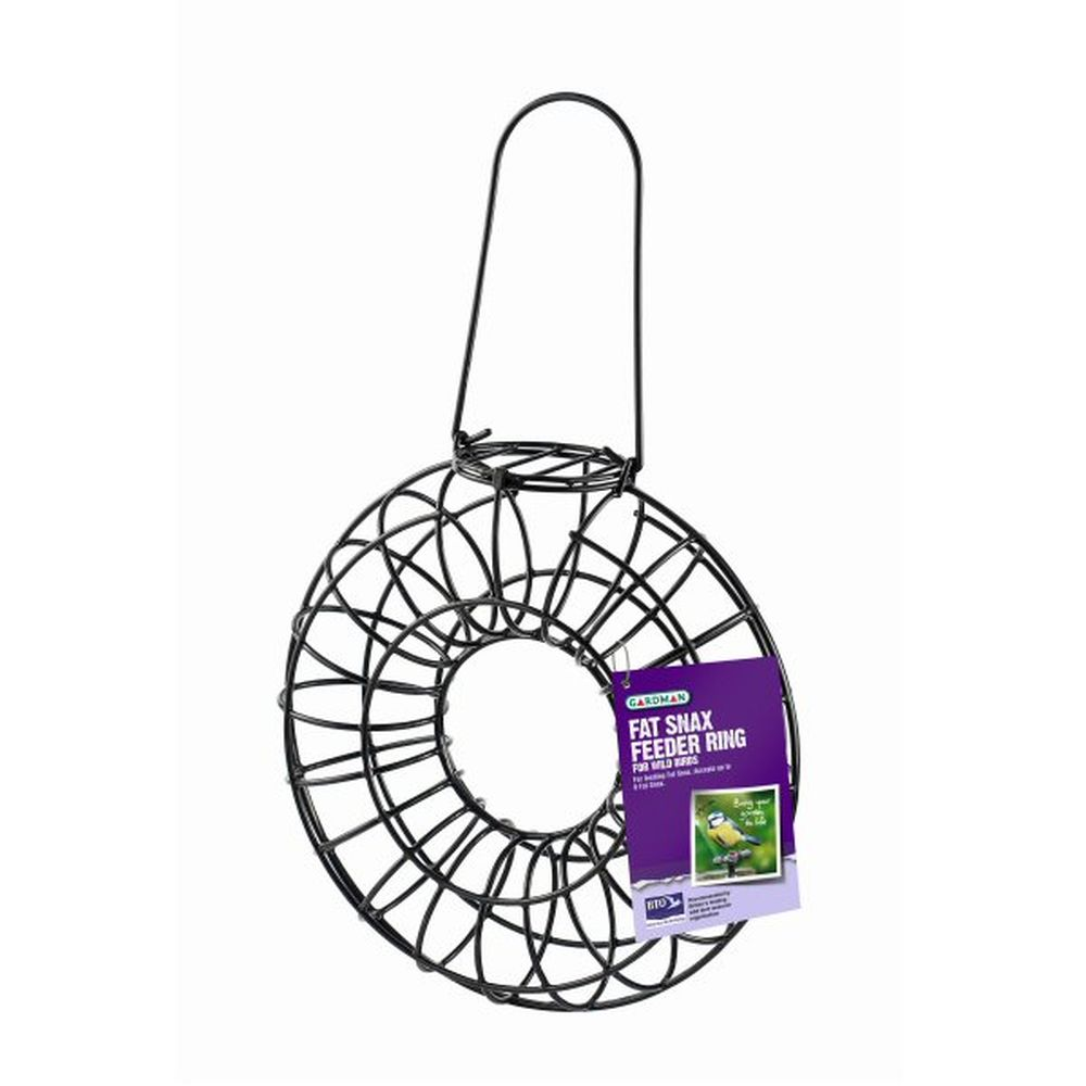 Gardman Wild Bird Fat Snax Feeder Ring