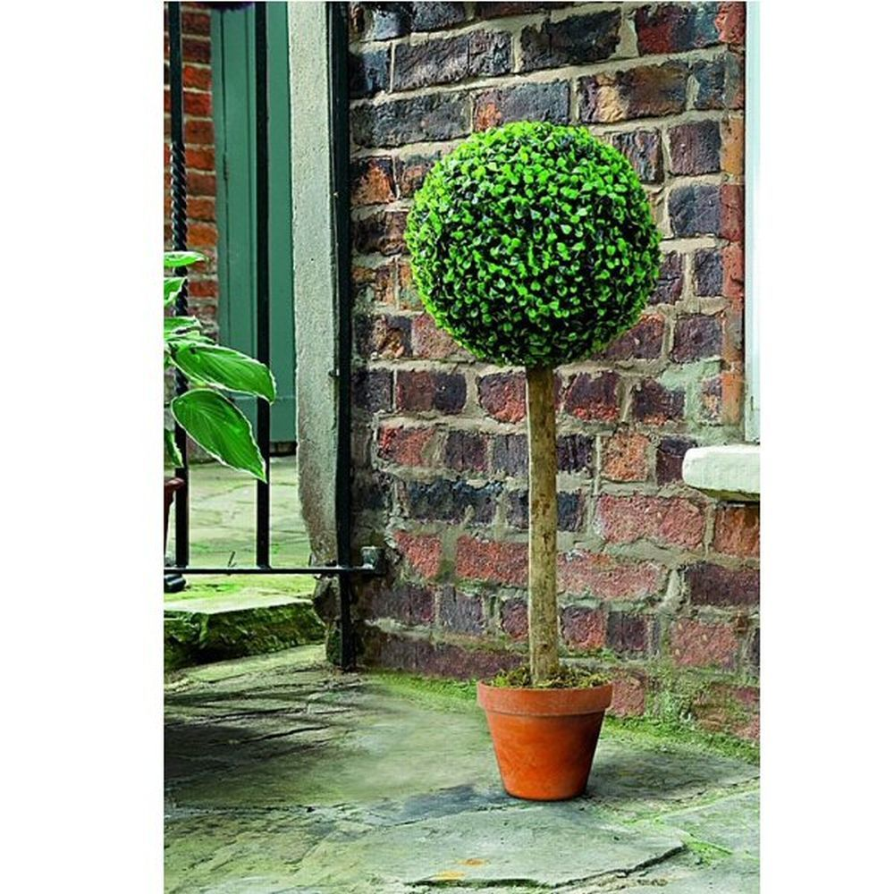 Gardman Artificial Topiary Ball Tree Leaf Effect