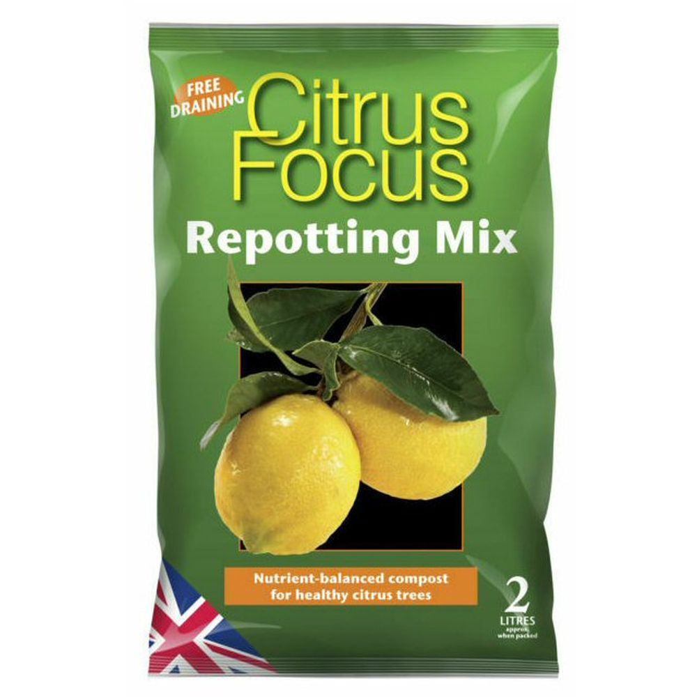 Growth Technology 2 Litre Citrus Focus Repotting Mix