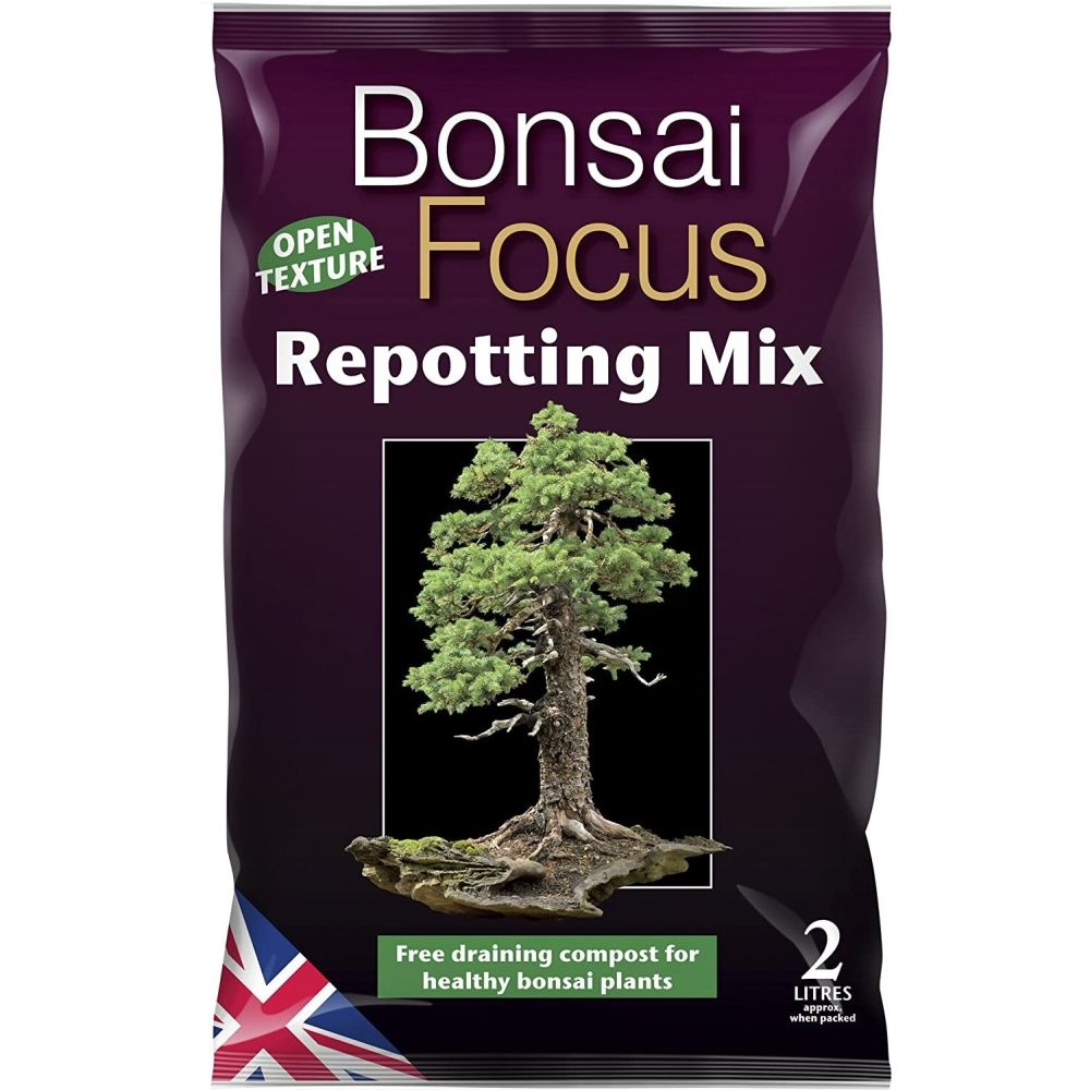 Growth Technology 2 Litre Bonsai Focus Repotting Mix