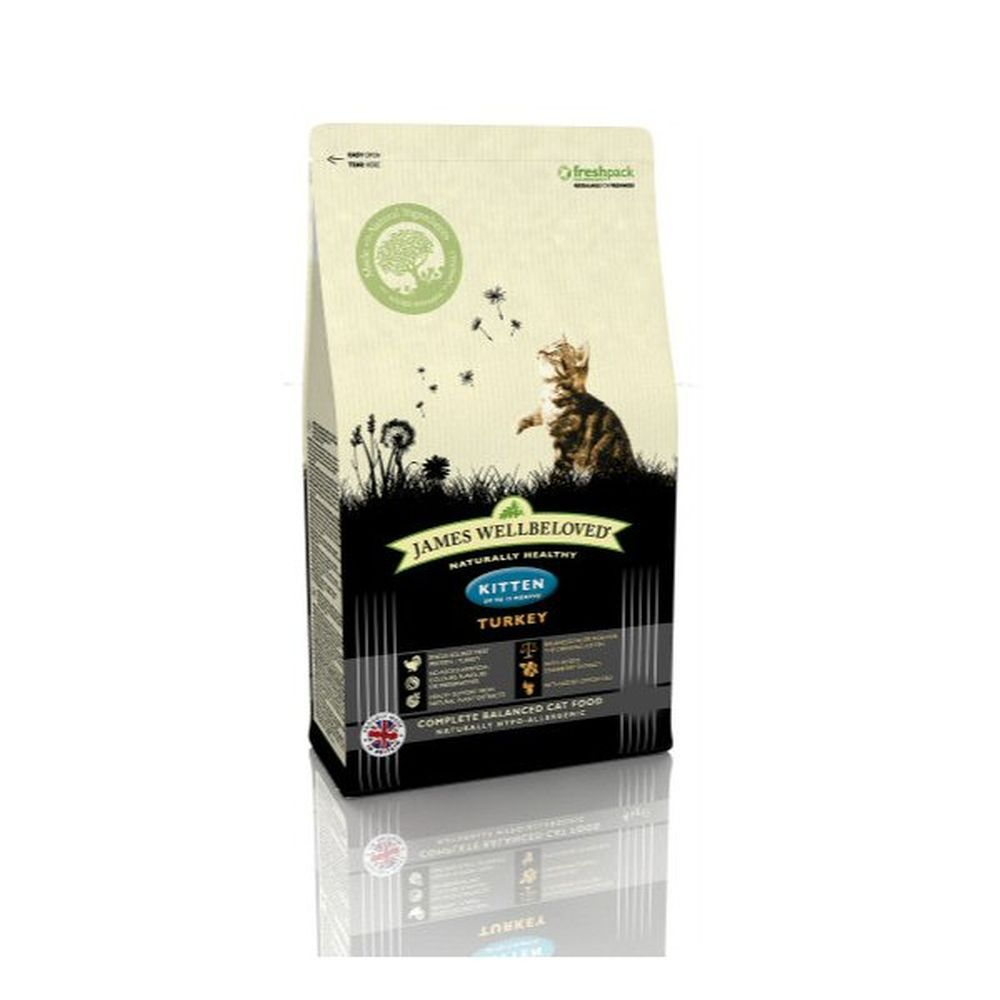 James Wellbeloved 300g Turkey Kitten Dry Cat Food