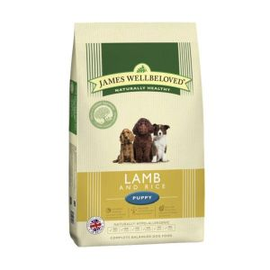 James Wellbeloved 2kg Lamb & Rice Puppy Dry Dog Food