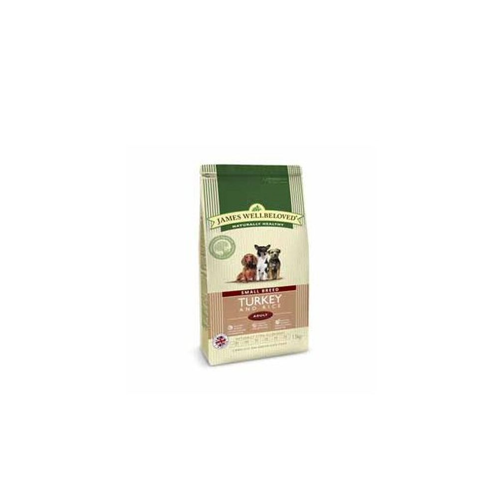 James Wellbeloved 1.5kg Turkey & Rice Small Breed Adult Dry Dog Food